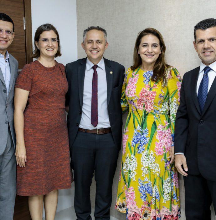 Renato Lima, Manoela Nogueira, Evaldo Lima, Patricia Macedo E Erick Vasconcelos