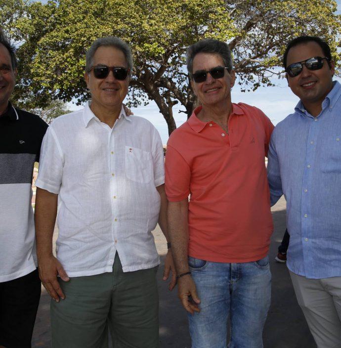 Ricardo Pinheiro, Luiz E Cesar Fiuza E Leonardo Cavalcante