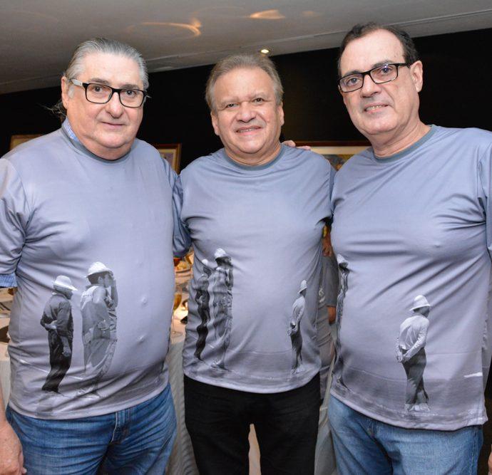 Roberto Pinheiro, Raul Martins E Urbano Costa Lima