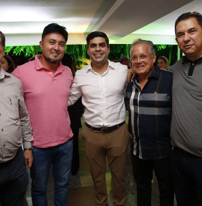 Roberto Resende, Michel Lins, Queiroz Filho, Paulo Melo E Vieira Filho
