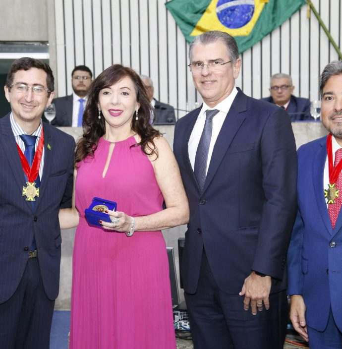 Roberto Victor, Gina E Randal Pompeu E Leandro Vasquez