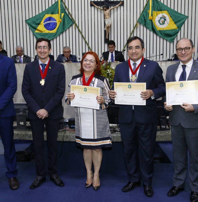 Roberto Victor, Vanja Fontenele, Jardson Cruz E Alcides Saldanha