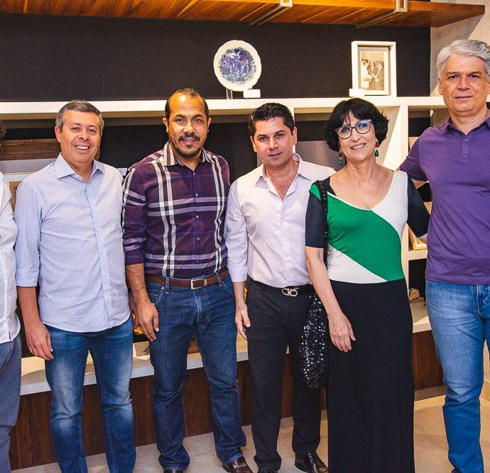 Rodrigo Parente, Anastacio Marinho, Antonio Almeida, Pompeu Vasconcelos, Denise Mattar E Leonardo Vidal