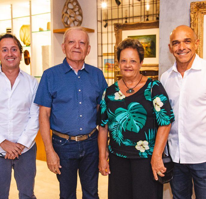 Rodrigo Parente, Clidenor Capibaribe, Ana Nery E Pedro Ivo Colares