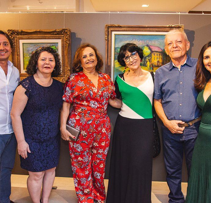 Rodrigo Parente, Kadma Marques, Clicia Capibaribe, Denise Mattar, Clidenor Capibaribe E Luciana Cidrao