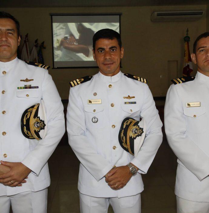 Rodrigo Santos, Alexandre Silva E Ricardo Castro