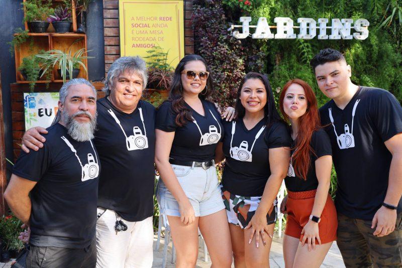 Rogerio Lima, Lc Moreira, Gessika Ricarte, Aldaila Bongiovi, Paula Amaral E Roni Vasconcelos