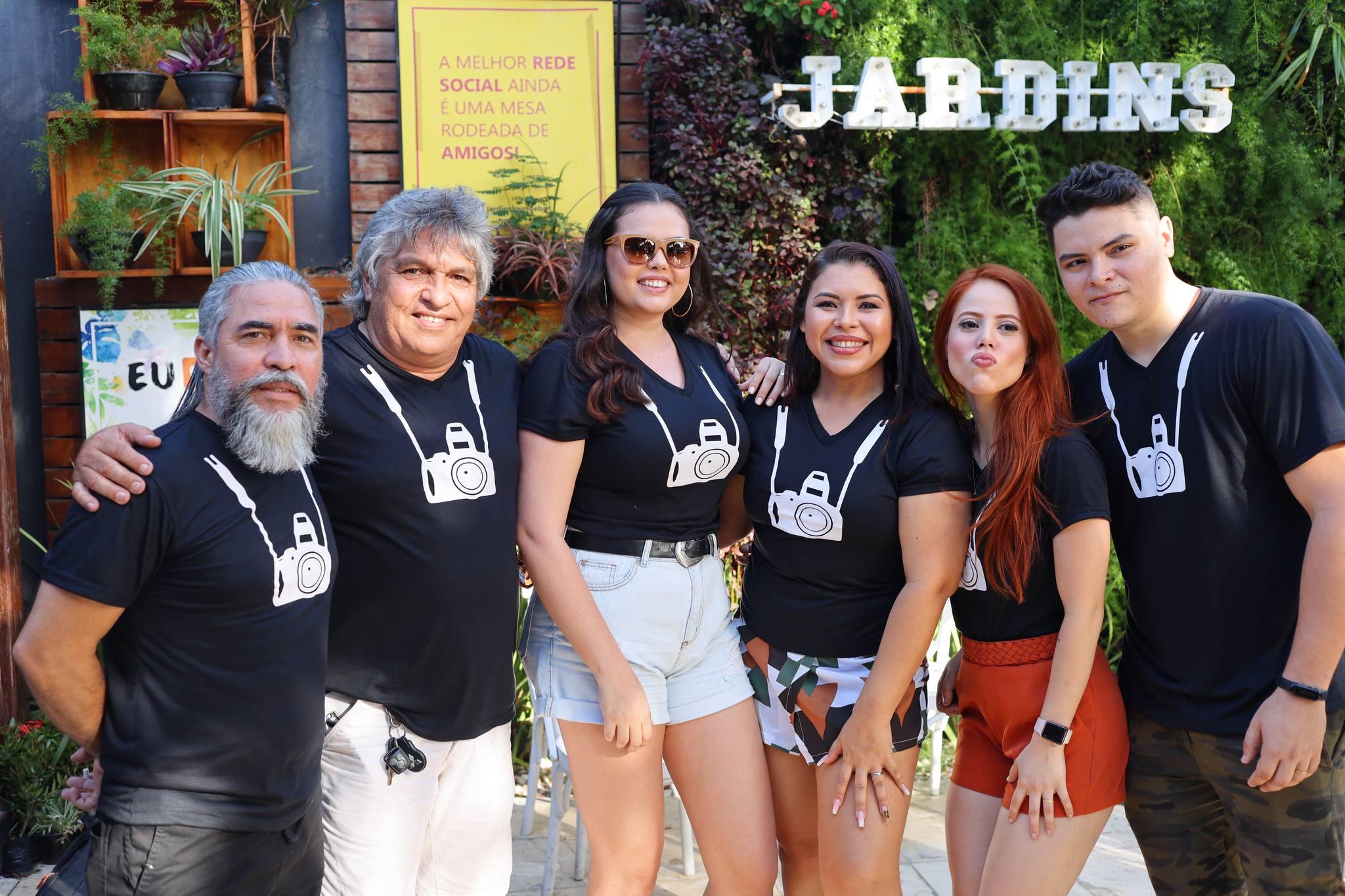 Jardins Lounge Bar serve de cenário para a Confraternização dos Fotógrafos Sociais de Fortaleza