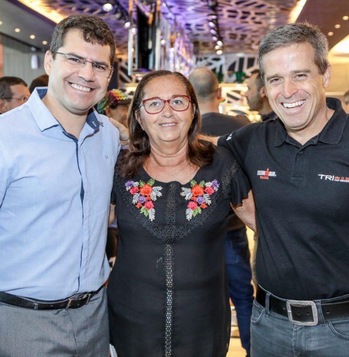 Rogerio Pinheiro, Fatima Figueiredo E Carlos Galvao