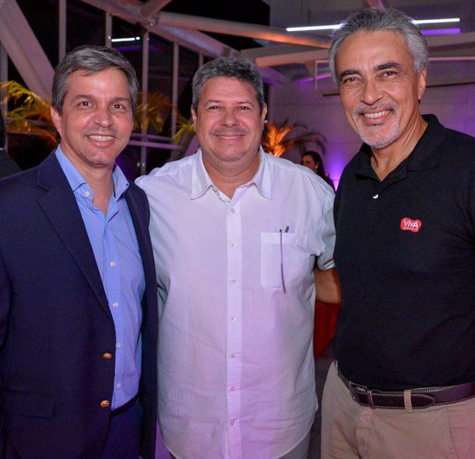 Romulo Soares, Bob Santos E Paulo Angelim