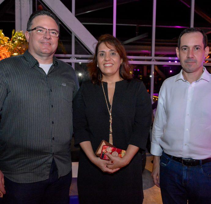 Roney Alcoforado, Adriana Cabral E Marcelo Vargas