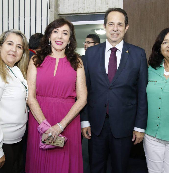 Rosangela Lima, Gina Pompeu, Joao Milton E Sandra Goncalves