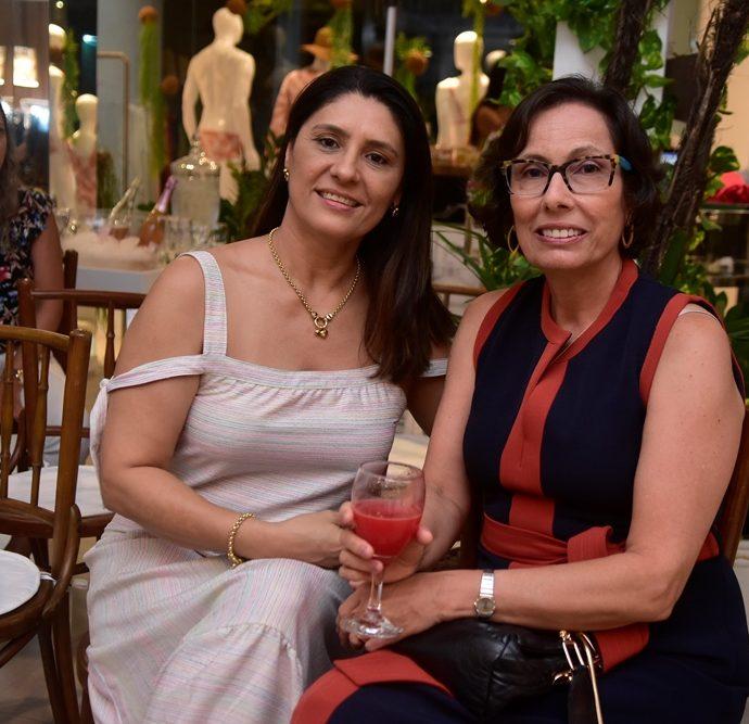 Rosângela Melo, Luciana Andrade