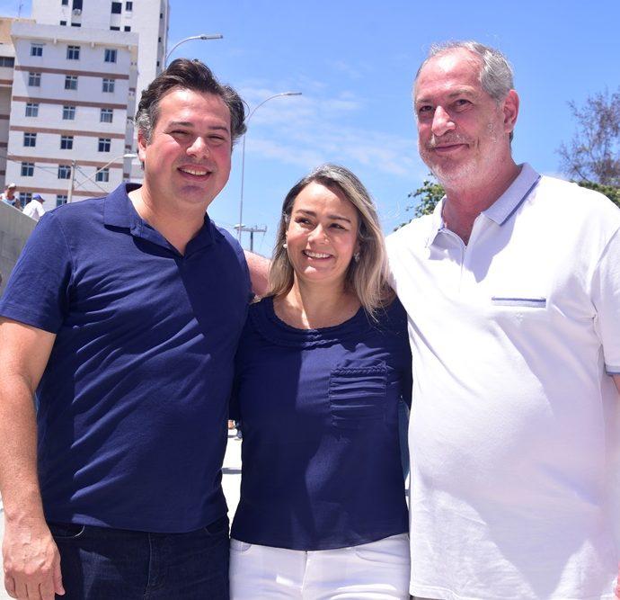 Samuel Dias, Darlene Braga, Ciro Gomes