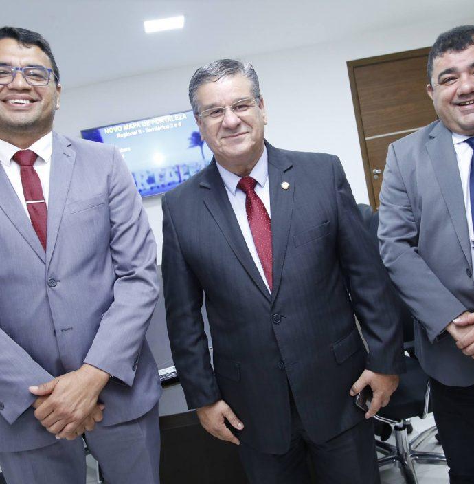 Sargento Reginalro, Raimundo Filho E Carlos Dutra