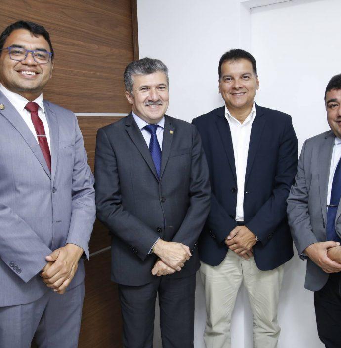 Sargento Reginauro, Antonio Henrique, Ezio Feitosa E Raimundo Filho