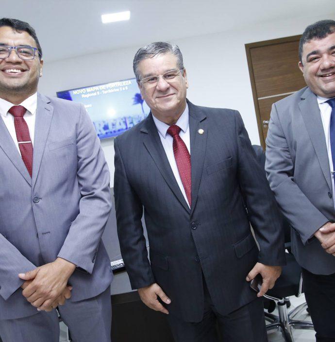 Sargento Reginauro, Carlos Dutra E Raimundo Filho