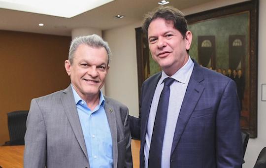 Cúpula do PDT acompanha posse de Cid Gomes na presidência do partido no âmbito do Ceará
