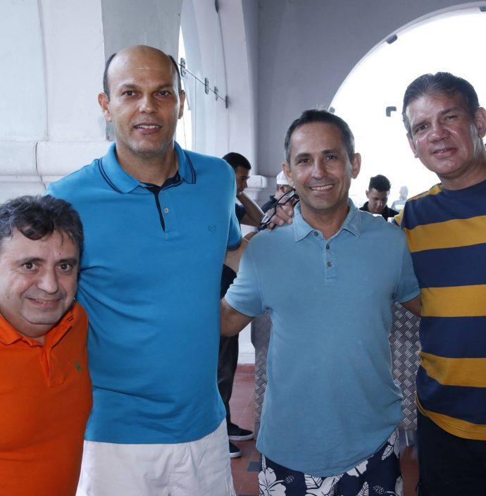 Sergio Arruda, Ailton Junior, Everardo Montenegro E Nairo Junior
