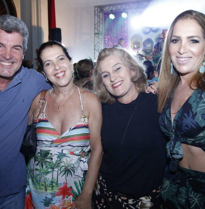 Sergio, Fernanda, Lolo E Silvana Aguiar