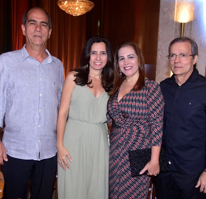 Sérgio Freitas, Telma Freitas, Marta Antunes, Marcio Juaçaba