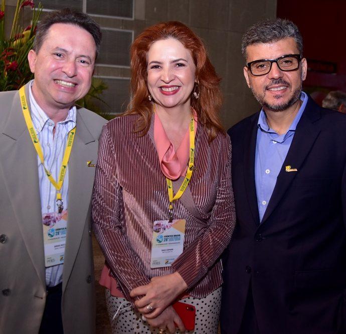 Sérgio Luiz, Enid Câmara, Nemias Ramos