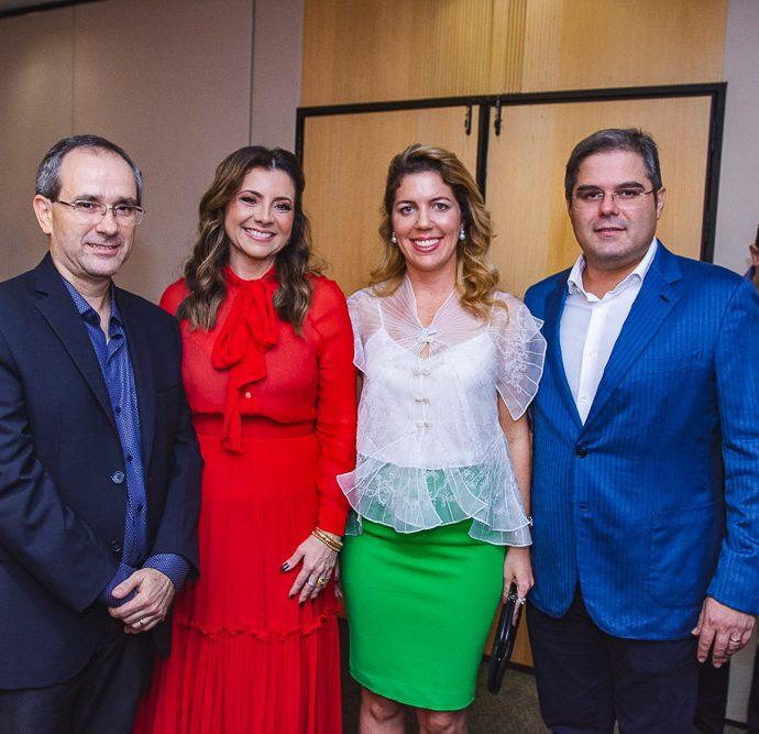 Sergio Resende, Emilia Buarque, Ticiana Rolim Queiroz E Edson Queiroz Neto