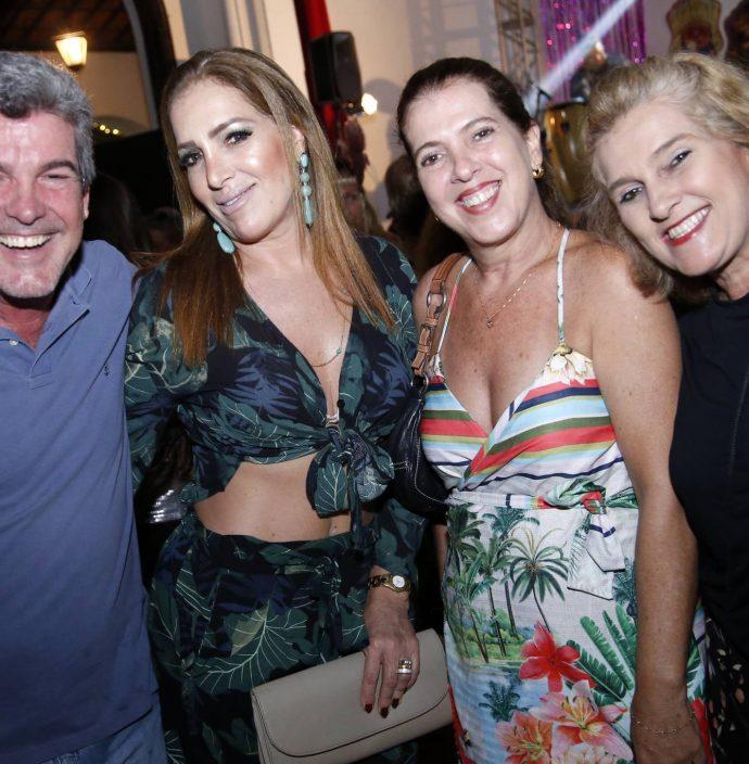 Sergio, Silvana, Fernanda E Lolo Aguiar