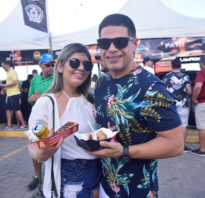 Shelida Azevedo E Erick Cavalcante