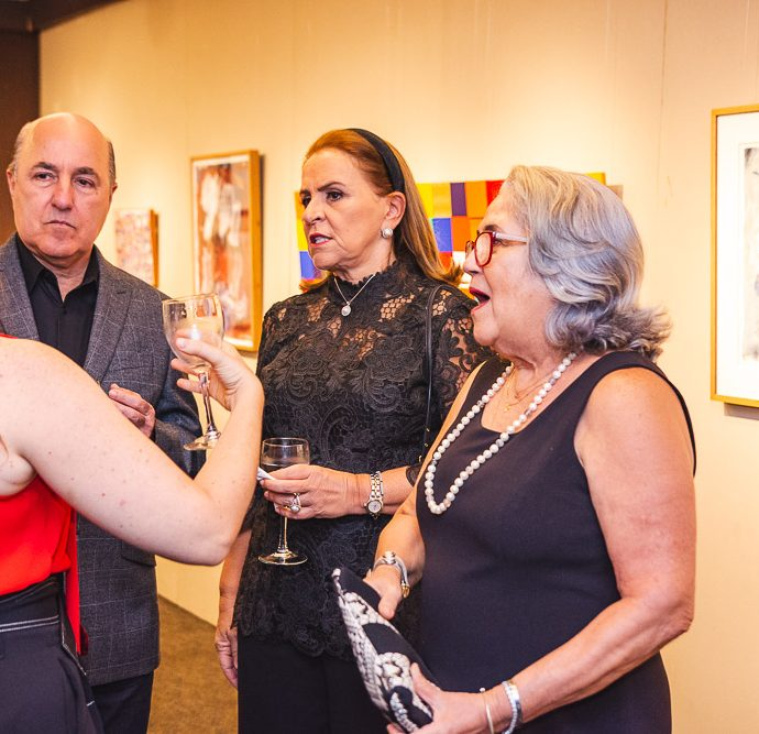 Silvio Frota, Beatriz Fiuza E Olga Cavalcante