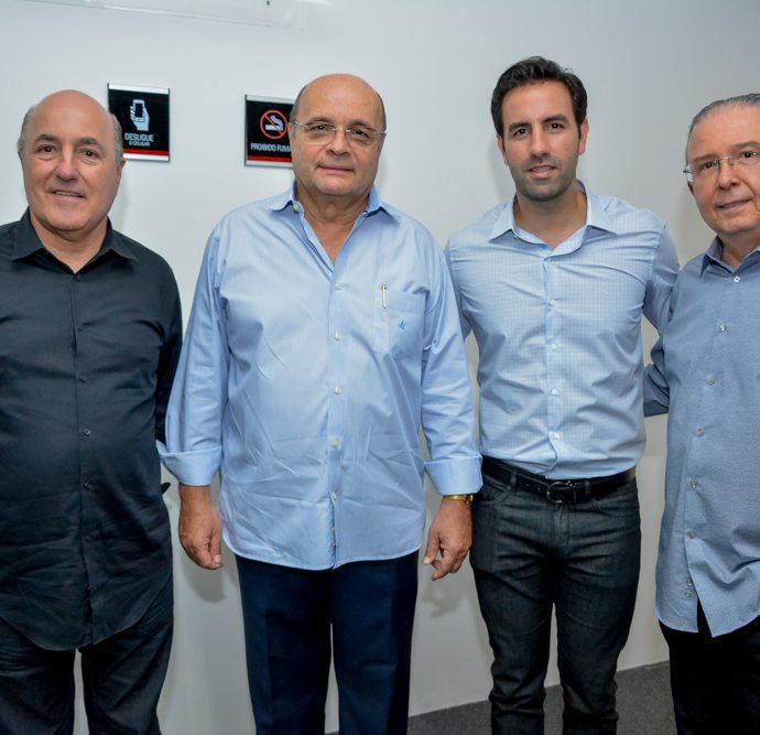 Silvio Frota, Fernando Cirino, Vitor Frota E Jose Antonio Melo