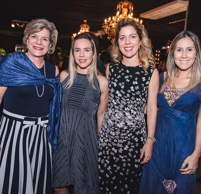 Stella Rolim, Isabela Rolim, Ticiana Rolim Queiroz E Paula Rolim