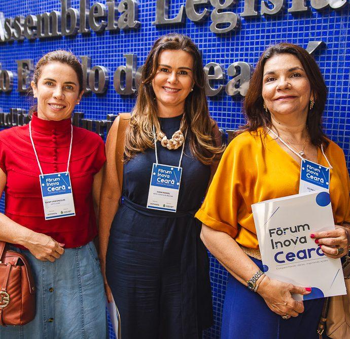 Suemy Vasconcelos, Ivana Bezerra E Celina Castro Alves