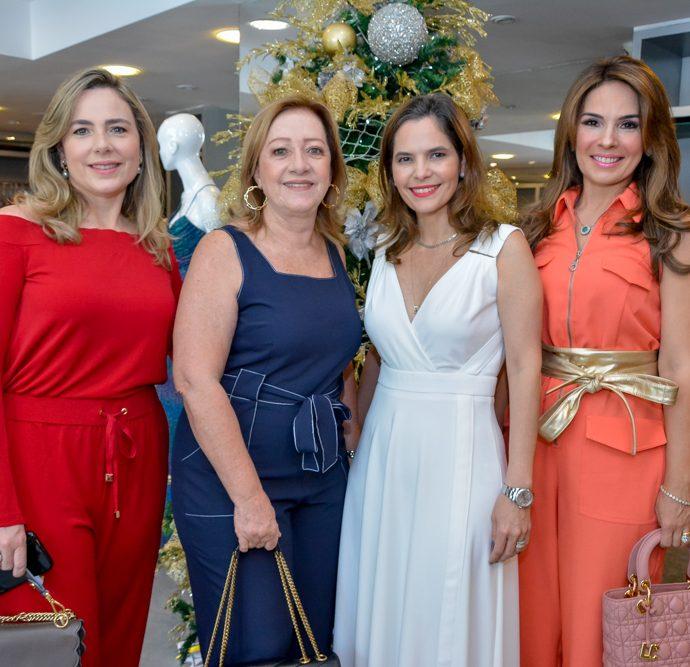 Suyanne Dias Branco, Tania Teixeira, Cristiana Cordeiro E Eveline Fujita