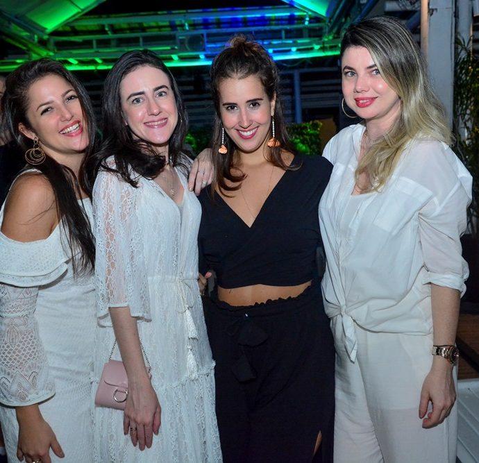 Talita Ferreira, Adelaide Sá, Raquel Klein, Inacia Sá