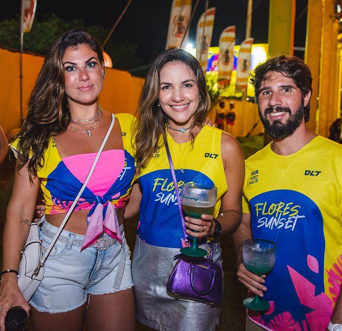 Talita Moreira, Mayara Tavora E Saul Araujo