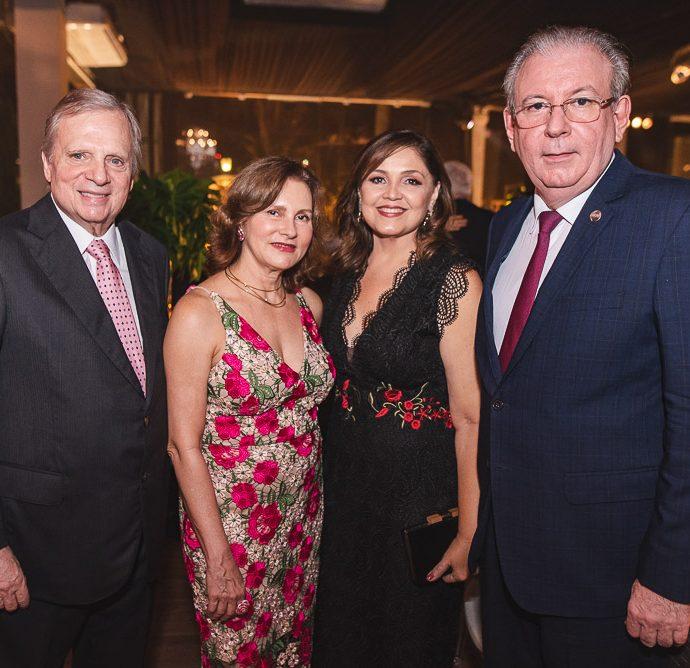Tarsso Jereissati, Renata Jereissati, Rosangela Cavalcante E Ricardo Cavalcante