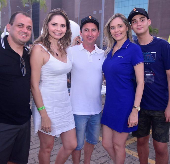 Timerio Ferreira, Mirian Chaves, Eriberto Maia, Daise Maia, Felipe Maia