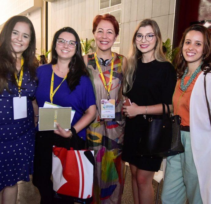 Vanessa Brito, Rafaela Neves, Leila Boeno, Rafaela Camboim, Bruna Monteiro
