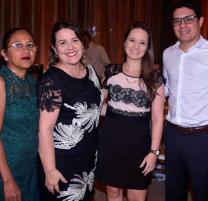 Veronica Ferreira, Cristina Moreira, Lessiane Lobo, Luiz Fernando Bezerra