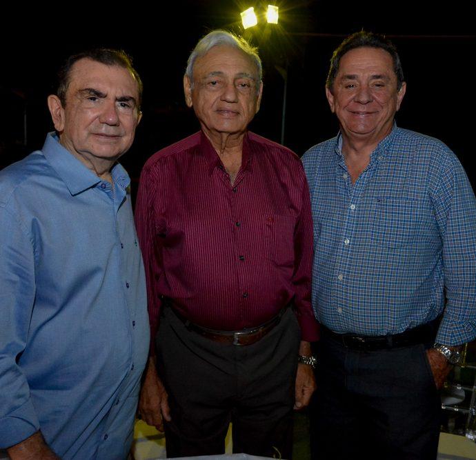 Vicente Belchior, Leorni Belém E Rogerio Cristino
