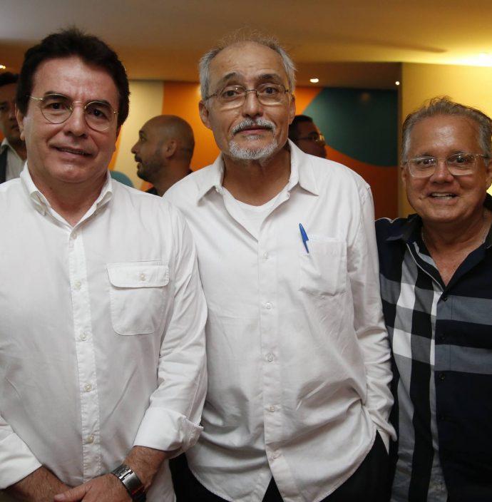 Vicente Ferrer, Glauco Lobo E Paulo Melo