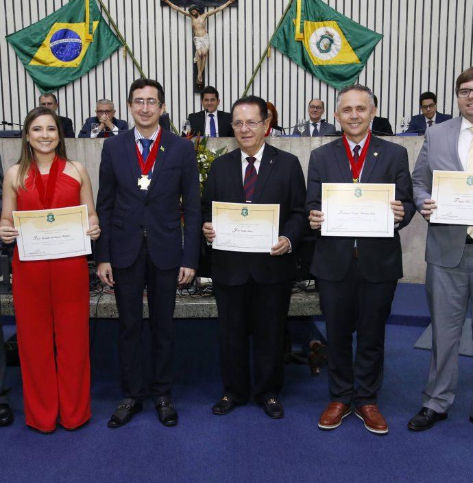 Victor Frota, Itala Ribeiro, Roberto Victor, Jose Valdo, Evaldo Lima E Thiago Facanha