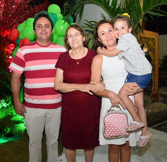 Virgilio Nogueira, Vania E Gisele Veras, Lais Maria