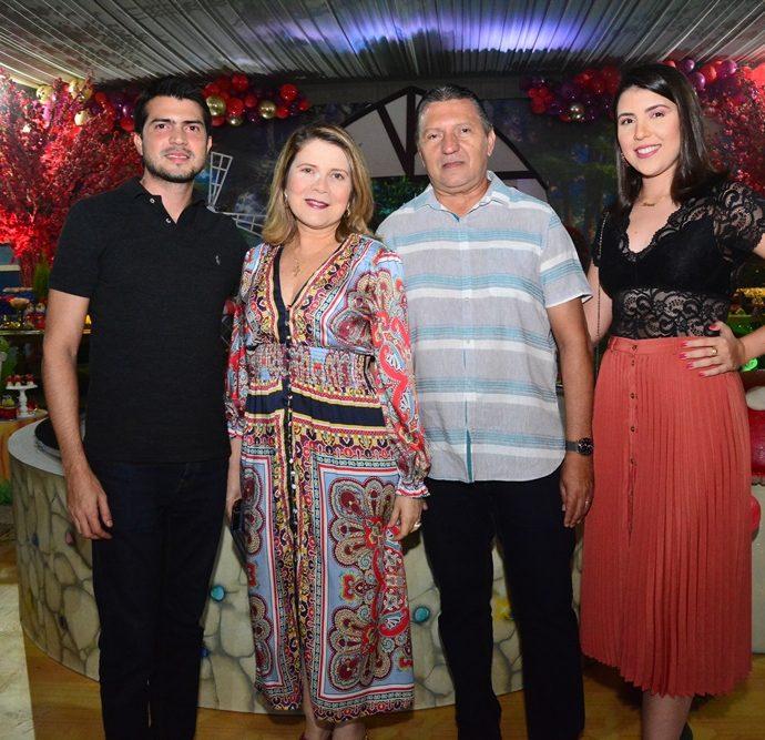 Wagner Filho, Ana Bastos, Wagner E Sara Alencar