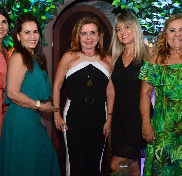 Waleria Alencar, Lucineide Pontes, Mirian Braga, Gisele Albano E Vera Silveira