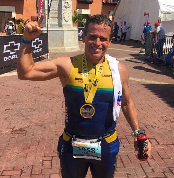Carlos Galvão encara o Ironman 70.3 Cartagena e mira o Mundial de Nova Zelândia em 2020