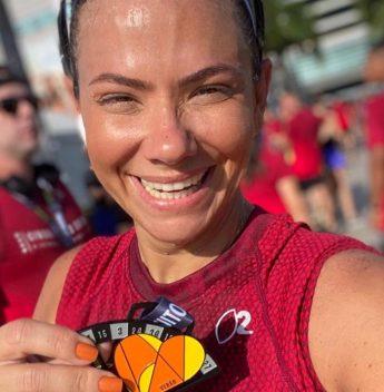 Vanessa Queiroz marca presença na última etapa do Circuito das Estações
