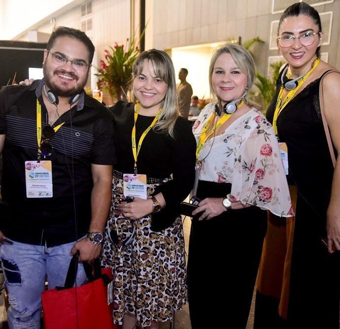 Wilkson Santos, Rafaela Mesquita, Glaucy Sales, Sandra Gomes