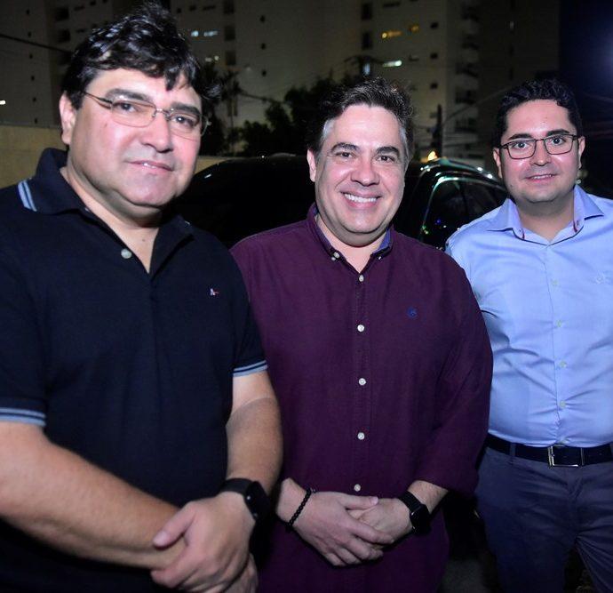 Willame Alencar, Roberto Castro, Pedro Loureiro